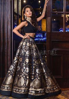 Indian Fashion Dresses, Indian Gowns Dresses, Dress Indian Style, Indian Designer Outfits, Indian Wear, Indian Western Dress, Western Lehenga, Indian Wedding Gowns, Desi Wedding Dresses