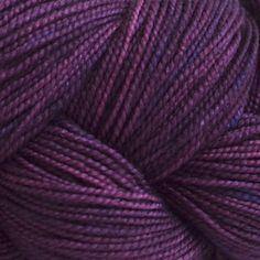 Plum-coloured yarn