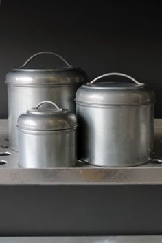Set of 3 Really Useful Urn Storage Tins