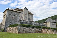 Ancient Castle of Thun in Trentino, Italy.