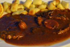 Teletina u crvenom sosu