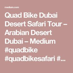 Quad Bike Dubai Desert Safari Tour – Arabian Desert Dubai – Medium  #quadbike #quadbikesafari #quadbikedubai #quadbikingdubai #desertsafariwithquadbike #desertquadbikesafari #dubaiquadbikesafari