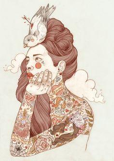 Liz Clements fashion illustration
