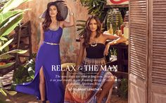 The #maxi #dress has come a long way. Now take it on your travels in our roaming design & color moment at #bebe