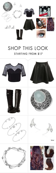 """""""S.O.S. by Jonas Brothers"""" by ocean-goddess ❤ liked on Polyvore featuring Pilot, Aerosoles, Malaika, Fremada and Journee Collection"""