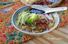 A taste of memories -- Echo's Kitchen: Penang (Assam) Laksa (With Fresh Sardines)