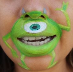 Face Painting on Pinterest | Face Paintings, Monsters Inc and Mike ...