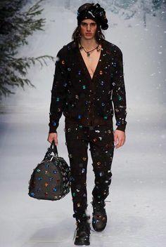 Moschino menswear fall/winter 2015