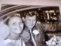 18th June 1966 Bloomsbury Central Baptist Church, My Parent's Wedding.   Digitally repaired photo By Claire Sanders