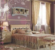 #kidsroom #childrenroom #designideas #furniture #kids #children #design #style #interior Комплект в детскую Ebanisteria Bacci Bonne Nuit, bonne-nuit-composition-N.7