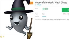 Ghost of The Week: Witch Ghost