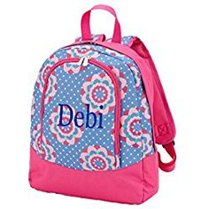 755be6cd81 Fashion Print Preschool Backpack - Personalization Available! (Zoey -  Personalized)