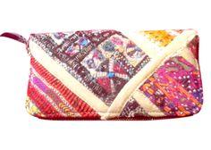 Hobo Shopping Handbag Gujarati Embroidery Banjara handbag and purses for ladies. Indian traditional and colorful designs ideal for this Christmas gifts from Kirti Textile