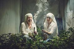 Photographers Document a Nuns Who Grow And Sell Weed #inspiration #photography