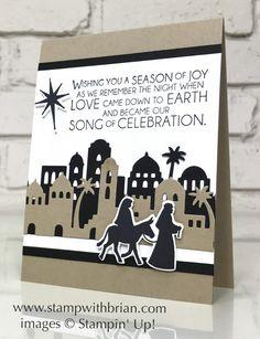 Night in Bethlehem, Stampin' Up!, Brian King