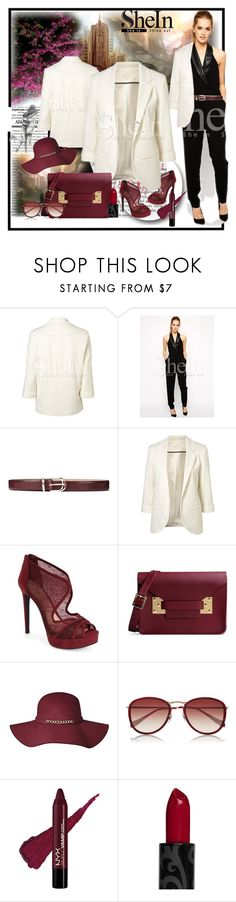 """Shein contest"" by lila2510 ❤ liked on Polyvore featuring GANT, Jessica Simpson, Sophie Hulme and Oliver Peoples"