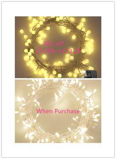 30% off KooPower 100 LED Globe Fairy Lights when purchase Waterproof Fairy Lights £18.99=>£13.29(Expired:04/10/2017)