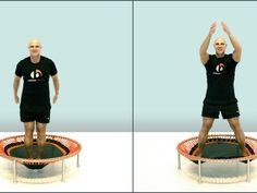 Übung 1  Für die folgende Übung stellt Ihr die Füße schulterbreit auf und lasst die Beine nach außen schwingen. Dann nehmt Ihr die Arme anstatt nach außen nach vorne in die Waagerechte, beide Arme gleichzeitig. Jedes Mal, wenn die Füße in Richtung 9 Uhr und 3 Uhr gehen, gehen die Arme Richtung 12 Uhr in die Waagerechte.