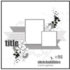 Scrapbook layout using tags Scrapbook Layout Sketches, Scrapbook Templates, Scrapbook Designs, Card Sketches, Scrapbook Supplies, Scrapbooking Layouts, Wedding Scrapbook, Baby Scrapbook, Scrapbook Cards