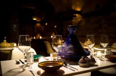 East village Morrocan. Tagines/couscous with included assorted apps. Family.