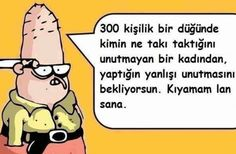 Illustrated funny words (written pictures) – Semra Turker – Join in the world of pin Comedy Zone, Best Caps, Galaxy Wallpaper, Happy Quotes, Really Funny, Funny Photos, Karma, Comics, Words