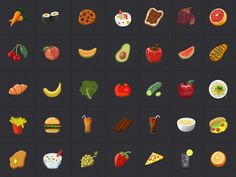 Food icons by Roi himan