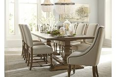 $1200 - Dining room - Avondale Dining Table   Havertys
