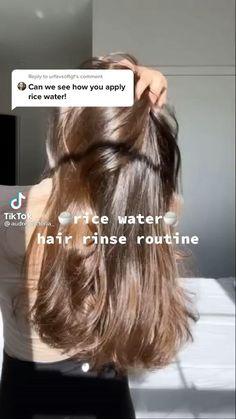 Hair Tips Video, Long Hair Tips, Curly Hair Tips, Hair Videos, Thin Hair Tips, Hair Growing Tips, Diy Hair Treatment, Natural Hair Styles, Short Hair Styles