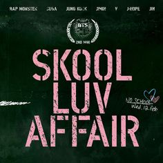 BTS 2nd Mini Album CD Booklet Included Skool Luv Affair Kpop Album Korean Music
