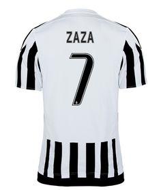 Maillot de foot Juventus Domicile 2015/2016 (7 Zaza)