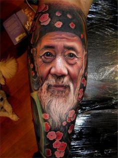 Community Post: 25 Jaw-Droppingly Amazing Portrait Tattoos Artist: Chris Nieves, Australia