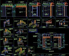 ★【Framing Details】★-CAD Library | AutoCAD Blocks | AutoCAD Symbols | CAD Drawings | Architecture Details│Landscape Details Fashion Sketch Template, Cad Library, Cad Blocks, Cad Drawing, Urban City, Autocad, Architecture Details, Landscape Design, House Design