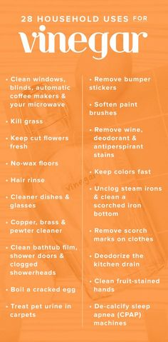 This secret cleaning item is sitting in your pantry right now Vinegar is an environmentally-friendly cleaner that's unbelievably inexpensive. Here are 28 ways to use vinegar around the house. Household Cleaning Tips, Deep Cleaning Tips, Toilet Cleaning, Cleaning Recipes, House Cleaning Tips, Natural Cleaning Products, Spring Cleaning, Cleaning Hacks, Household Cleaners