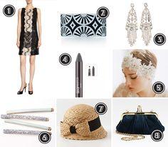 Great Gatsby Inspired Fashion #greatgatsby #gatsby #twenties #1920s #fashion