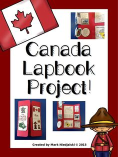 Canada Lapbook Project by Mark Niedjalski Social Studies Classroom, Social Studies Activities, Teaching Social Studies, Canada For Kids, All About Canada, Canadian Facts, Canadian History, Special Needs Teacher, Geography Activities