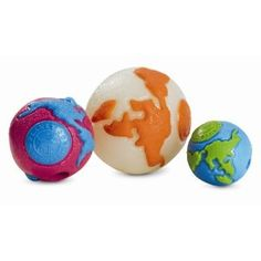 Planet Dog Orbee. My pooch loves these balls.