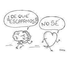 Corazón vs cerebro