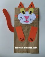 Paper bag puppets - remember those? Easy Crafts For Kids, Projects For Kids, Art For Kids, Paper Bag Puppets, Hand Puppets, Paper Bag Crafts, Paper Bags, Babysitting Kit, Insect Crafts
