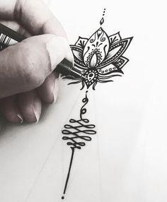 Lotus • Unalome