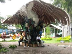 People's Park at the Heart of Davao City, Philippines