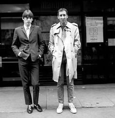 paul and pete The Style Council, Paul Weller, Swinging London, Mod Fashion, Op Art, Music Is Life, Album, My Style, Musicians