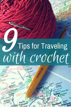 Traveling crocheter? You'll want to get all straightened out on what you can and should not take while traveling with crochet supplies.