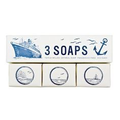 Maritime Soap Set : Biscuit Home