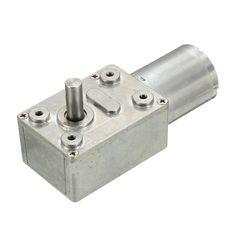 12V 30RPM Torque Gear Box Motor New