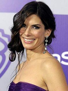 Sandra in purple