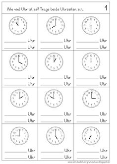Lessons: Reading the times - half an hour - Lessons: Reading the times – half an hour You are in the right place about school aesthetic Here - Teaching Kids, Kids Learning, German Language Learning, Math Addition, First Grade Reading, Learn German, Exercise For Kids, Math Activities, School