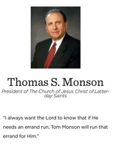 #presmonson #ldsquotes #service #calling #charity #obedience