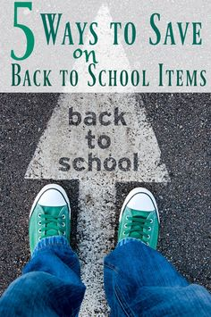 How to Save Money on Back to School Items