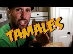 Vegan Tamales - Cooking with The Vegan Zombie  This dude is so funny and delivers awesome recipes!