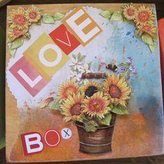"""Notes to Myself"" Gratitude Box or God Box"